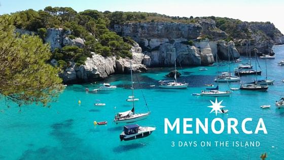 3 days in Menorca